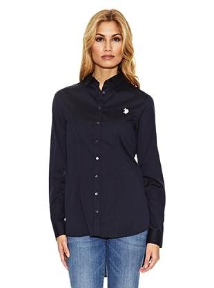 US Polo Assn Camisa Pinzas (Azul Marino)