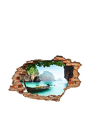 Ambiance Sticker Wandtattoo Palawan Tropical View