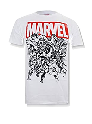 Marvel T-Shirt Manica Corta Collective