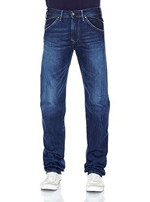Pepe Jeans London Vaquero Rage Zip (Azul Medio)