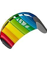 HQ Kites Symphony Beach III 1.3 Kite, Rainbow
