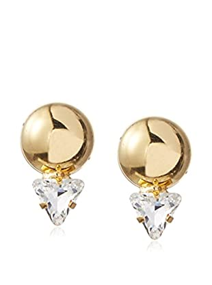 Yochi Crystal Geo Earrings