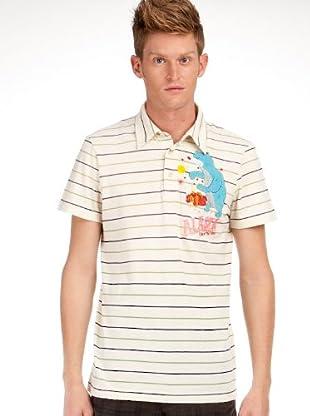 Custo Poloshirt (Creme)