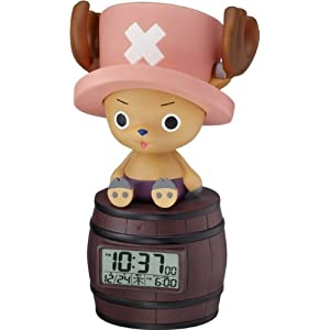 ONE PIECE (ワンピース) キャラクター目覚し時計 トニートニーチョッパー おしゃべり・人感センサー機能搭載 8RDA51RH06