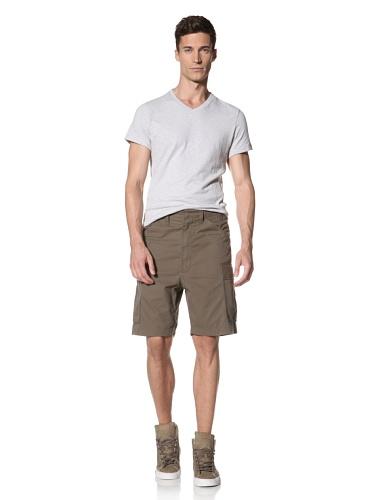 Maharishi Men's Classic Lock Cargo Shorts (Maha Olive)