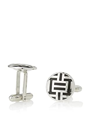 Link Up Black Reflex Cufflinks