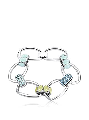 Saint Francis Crystals Armband Made with Swarovski® Elements silberfarben