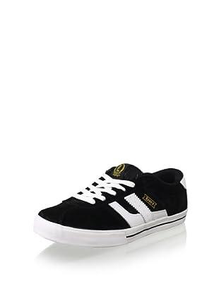 C1RCA Men's Lopez 40 Skate Shoe (Black/White)