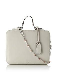 Gryson Women's Emma iPad Case with Chain Strap (Latte)