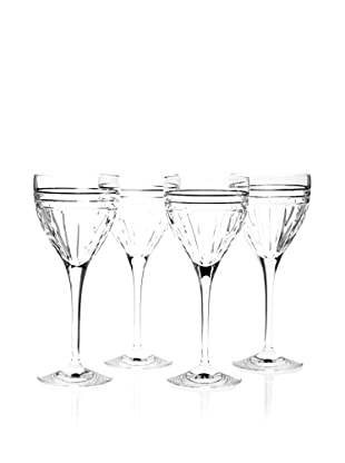 Reed & Barton Set of 4 Tempo Wine Glasses