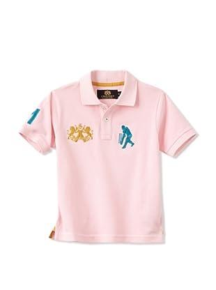 Sher Singh Boy's Classic Polo (Pink)