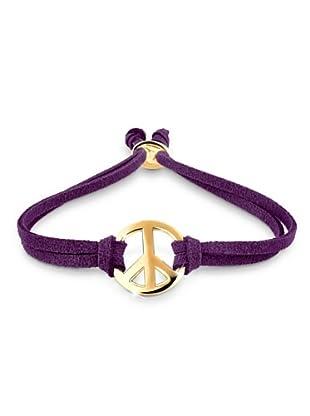 Elli Armband Peace lila