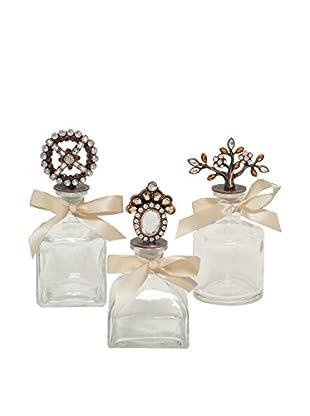 The Import Collection Set of 3 Presha Bottles