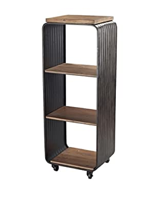 Sterling Maltapan Shelves, Dark Grey/Walnut