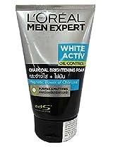L'Oreal Men Expert White Activ Oil Control Charcoal Brightening Foam 100ml