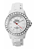 Colori Analog White Dial Women's Watch - 5-COL102