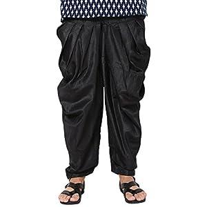 Men's Black Jodhpuri Dhoti Pants