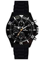 Maxima Hybrid Analog Black Dial Men's Watch - 31281PPGN