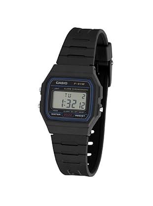 CASIO 2900 F-91 - Reloj Caballero cuarzo caucho