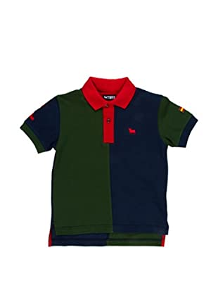 Toro Polo Junior Bicolor (Azul Marino / Verde)