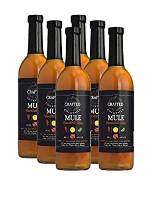 Crafted Cocktails 6-Pack Mule All Natural Low Calorie Cocktail Mix