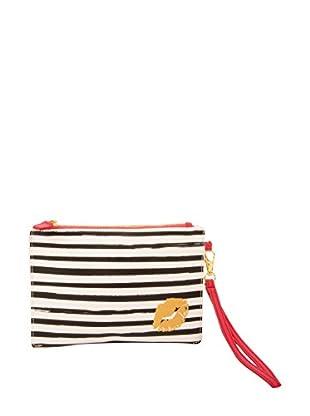 Tri-Coastal Kulturbeutel Cosmetic Bag weiß/schwarz