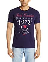 French Connection Men's Crew Neck Cotton T-Shirt