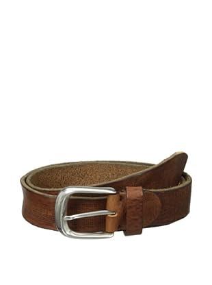Bolliver Men's Perforated Belt (Cognac)