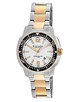 Giordano Analog White Dial Men's Watch - P157-55