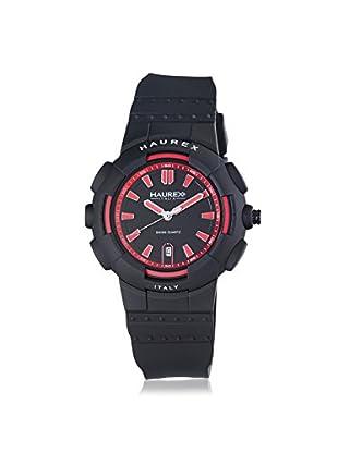 Haurex Men's 2P504URN Tremor Black Rubber Watch