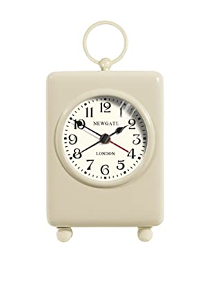 Newgate Carriage Mini Alarm Clock, Cream