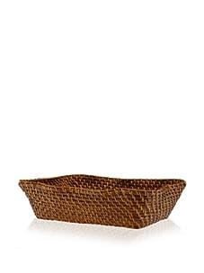 Global Amici Caribbean Rectangular Basket, Natural