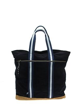 Daniel Cremieux Tote-Bag Alexandre (dunkelblau/camel)