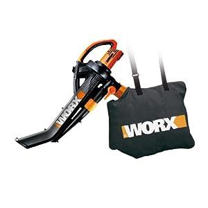 WORX WG502 TriVac Delux Blower/Mulcher/Vacuum 12.0 Amp with Metal Impeller