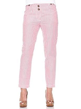 Caramelo Pantalón Rayas (Rosa)