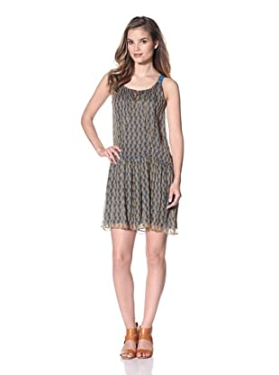 San & Soni Women's Leah Dress (Triangle Print)