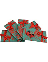 Twinkle Creation Handmade Paper Envelope With Bow Design-19 cm X 9.5 cm