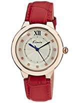 Kimio Analog Silver Dial Women's Watch - KW526M-RG0111