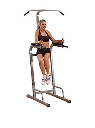 Body Solid Vertical Knee Raise, Champagne/Black