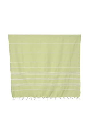 Nine Space Ayrika Collection Stripes Fouta Towel (Green)
