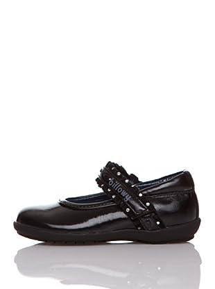 Billowy Merceditas Velcro (Negro)