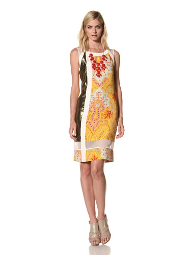 Thakoon Women's Indian Print Shift Dress (Multi)