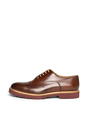 British Passport Zapatos Toe Cup (Marrón)