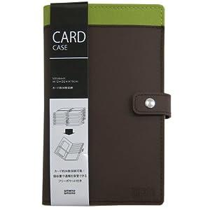 【クリックで詳細表示】amenoamono(アメーノアモーノ) カードケース ブラウン AM-CC-BR