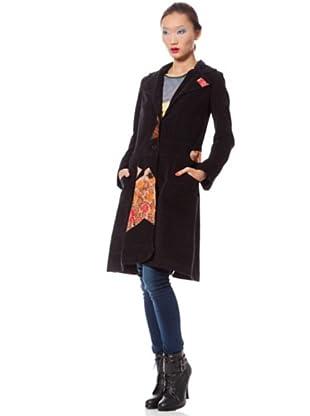 Custo Abrigo (Negro / Naranja)