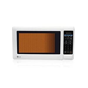 LG MS-2049UW Solo Microwave Oven-White