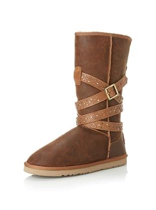 Australia Luxe Collective Women's Devil Long Vintage Sheepskin Boot (Vintage Chestnut)