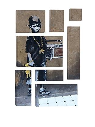 Banksy Bboy 8-Piece Giclée On Canvas