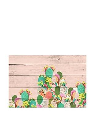 Really Nice Things Wandbild Tabla Cactus
