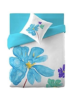 Costura Juego De Funda Nórdica Blue Blossom